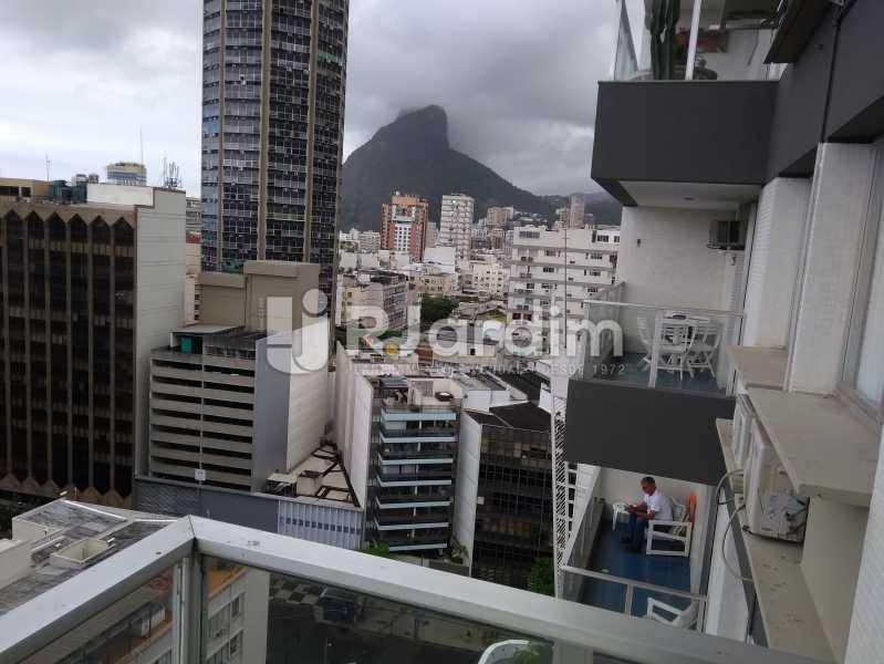 Vista - Flat Rua Professor Antônio Maria Teixeira,Leblon, Zona Sul,Rio de Janeiro, RJ À Venda, 2 Quartos, 73m² - LAFL20091 - 3