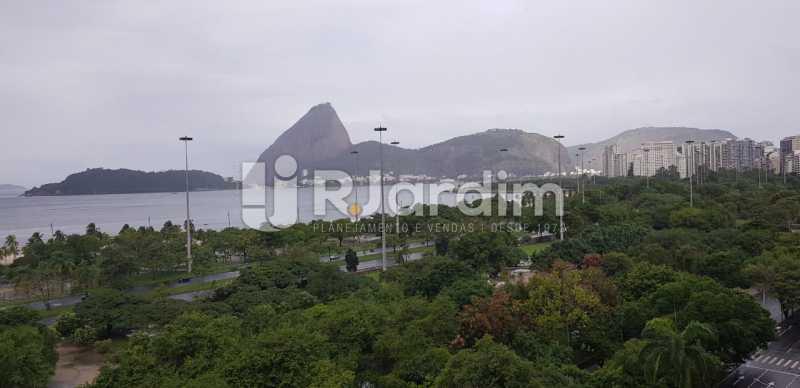 vista da sala - Apartamento Flamengo 3 Quartos Aluguel - LAAP32129 - 3