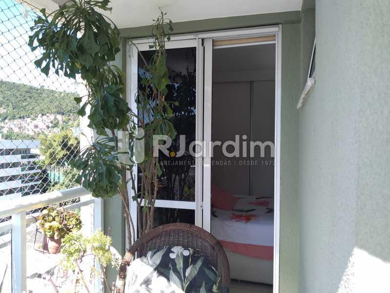 varanda para suíte - Apartamento Botafogo 3 Quartos Compra Venda Avaliação Imóveis - BGAP30003 - 8