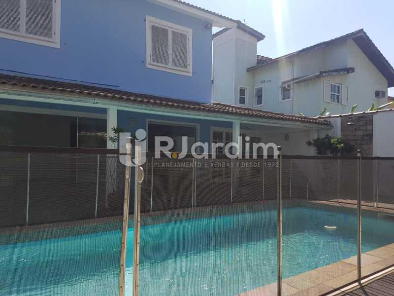 Casa - Casa em Condomínio Barra da Tijuca 5 Quartos Garagem Aluguel Administração Imóveis - LACN50011 - 1