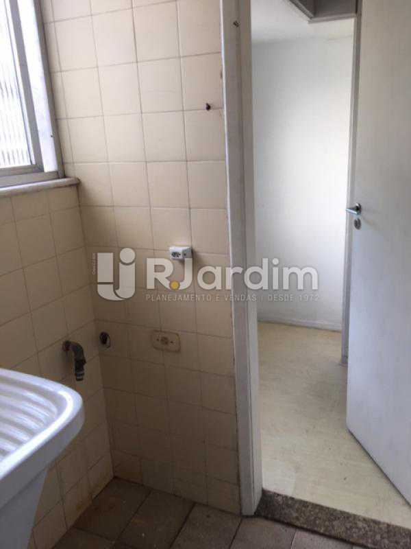 Area- dependência - Apartamento Jardim Botânico 1 Quarto Aluguel Administração Imóveis - LAAP10375 - 10