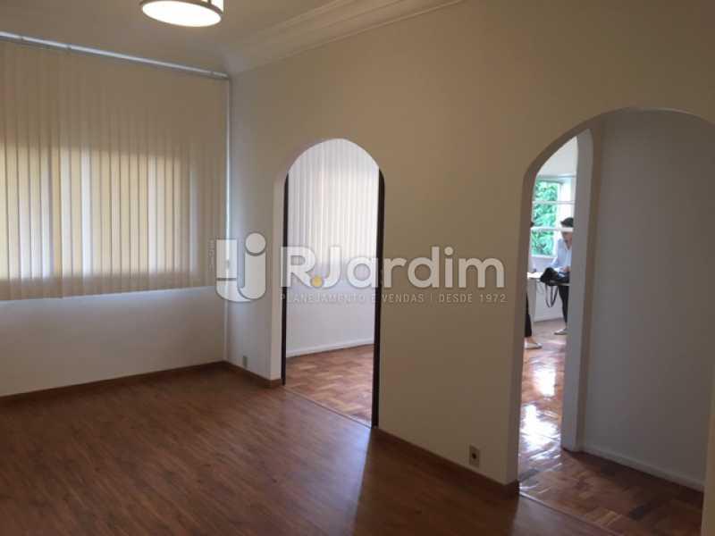 Sala - Apartamento Jardim Botânico 3 Quartos Aluguel Administração Imóveis - LAAP32141 - 3