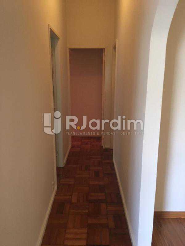 corredor - Apartamento Jardim Botânico 3 Quartos Aluguel Administração Imóveis - LAAP32141 - 6
