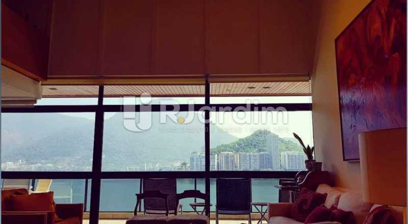 vista sala  - Apartamento à venda Avenida Epitácio Pessoa,Ipanema, Zona Sul,Rio de Janeiro - R$ 9.500.000 - LAAP32146 - 8