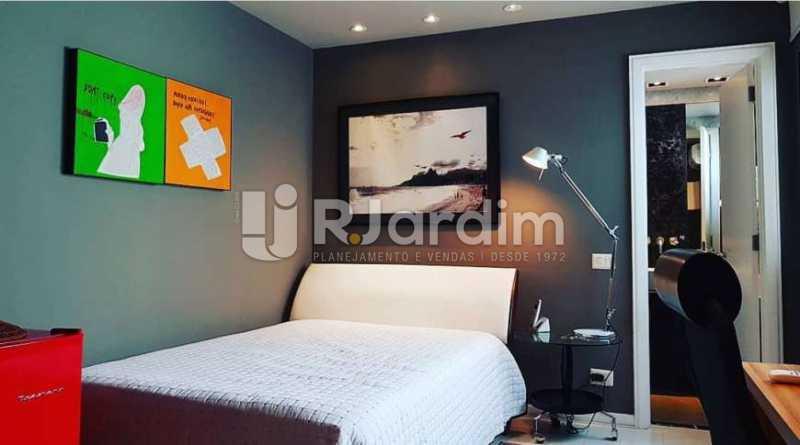 quarto - Apartamento à venda Avenida Epitácio Pessoa,Ipanema, Zona Sul,Rio de Janeiro - R$ 9.500.000 - LAAP32146 - 13