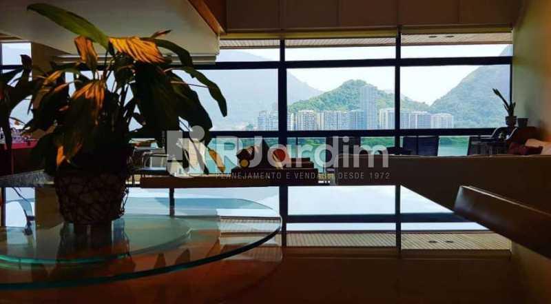 vista sala - Apartamento à venda Avenida Epitácio Pessoa,Ipanema, Zona Sul,Rio de Janeiro - R$ 9.500.000 - LAAP32146 - 7