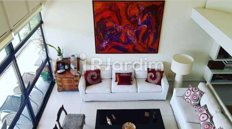 sala - Apartamento à venda Avenida Epitácio Pessoa,Ipanema, Zona Sul,Rio de Janeiro - R$ 9.500.000 - LAAP32146 - 12