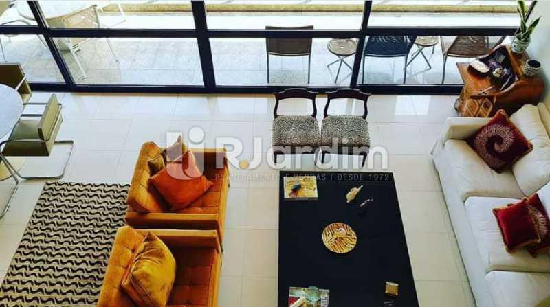 sala - Apartamento à venda Avenida Epitácio Pessoa,Ipanema, Zona Sul,Rio de Janeiro - R$ 9.500.000 - LAAP32146 - 16