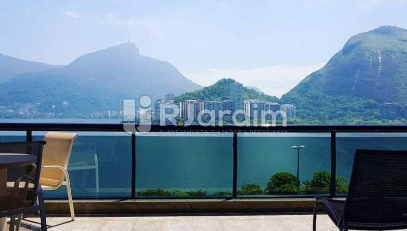Vista/ Cristo Redentor - Apartamento à venda Avenida Epitácio Pessoa,Ipanema, Zona Sul,Rio de Janeiro - R$ 9.500.000 - LAAP32146 - 1