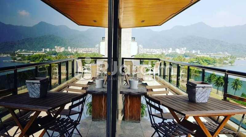 varanda - Apartamento à venda Avenida Epitácio Pessoa,Ipanema, Zona Sul,Rio de Janeiro - R$ 9.500.000 - LAAP32146 - 10