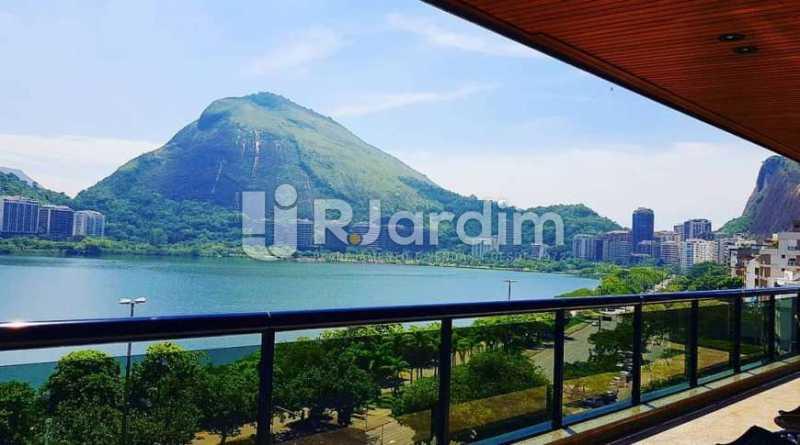 varanda  - Apartamento à venda Avenida Epitácio Pessoa,Ipanema, Zona Sul,Rio de Janeiro - R$ 9.500.000 - LAAP32146 - 3
