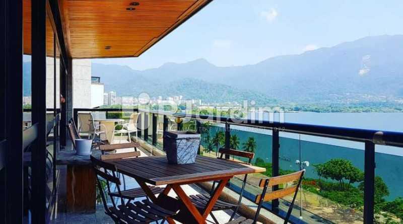 varanda - Apartamento à venda Avenida Epitácio Pessoa,Ipanema, Zona Sul,Rio de Janeiro - R$ 9.500.000 - LAAP32146 - 6