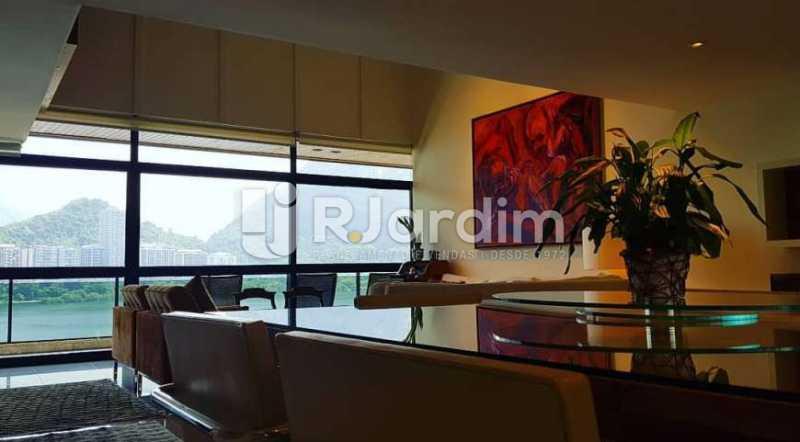 sala - Apartamento à venda Avenida Epitácio Pessoa,Ipanema, Zona Sul,Rio de Janeiro - R$ 9.500.000 - LAAP32146 - 18