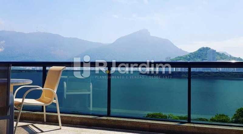 varanda /vista  - Apartamento à venda Avenida Epitácio Pessoa,Ipanema, Zona Sul,Rio de Janeiro - R$ 9.500.000 - LAAP32146 - 4