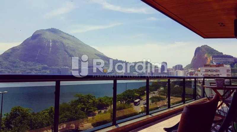 varanda/ vista  - Apartamento à venda Avenida Epitácio Pessoa,Ipanema, Zona Sul,Rio de Janeiro - R$ 9.500.000 - LAAP32146 - 27