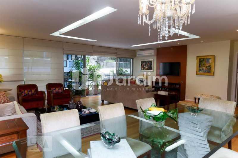 2salão - Apartamento Leblon 3 Quartos Aluguel Administração Imóveis - LAAP40793 - 3
