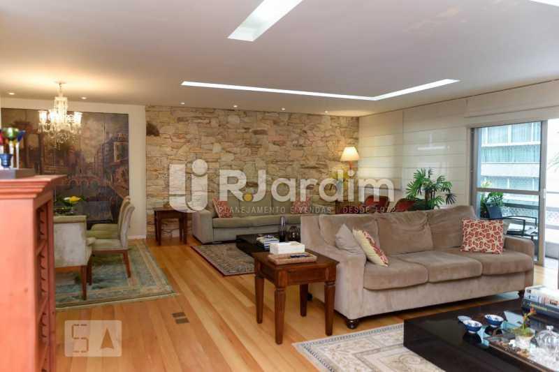 3sala estar 1 - Apartamento Leblon 3 Quartos Aluguel Administração Imóveis - LAAP40793 - 4