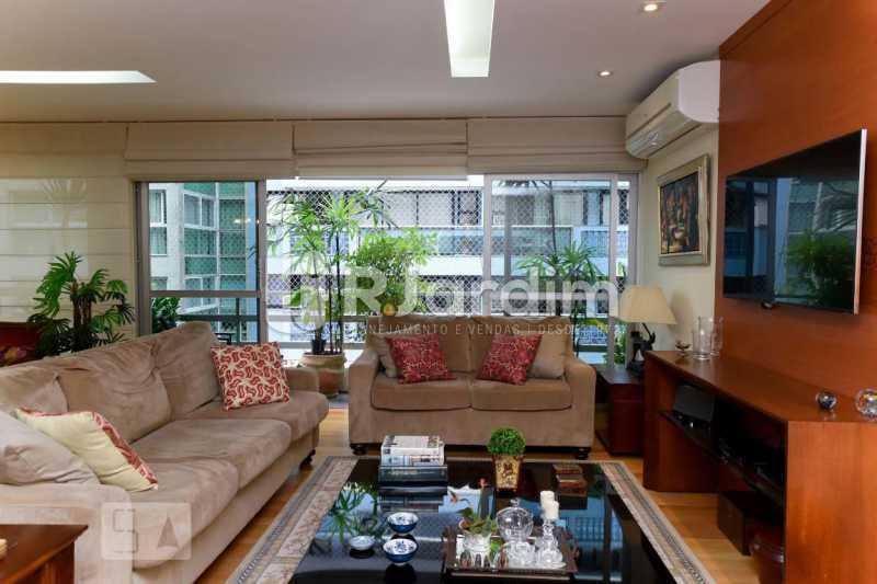 5sala tv - Apartamento Leblon 3 Quartos Aluguel Administração Imóveis - LAAP40793 - 6