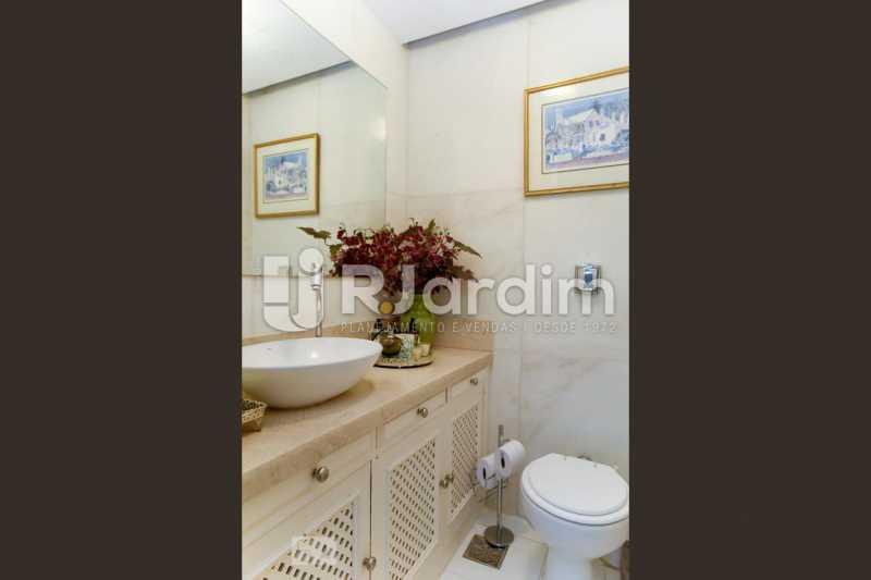 8lavabo - Apartamento Leblon 3 Quartos Aluguel Administração Imóveis - LAAP40793 - 9