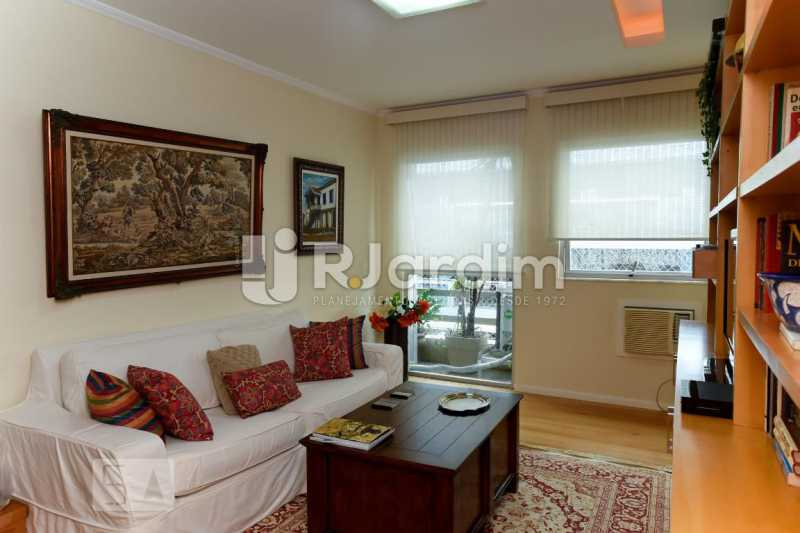 10qto escritório - Apartamento Leblon 3 Quartos Aluguel Administração Imóveis - LAAP40793 - 11