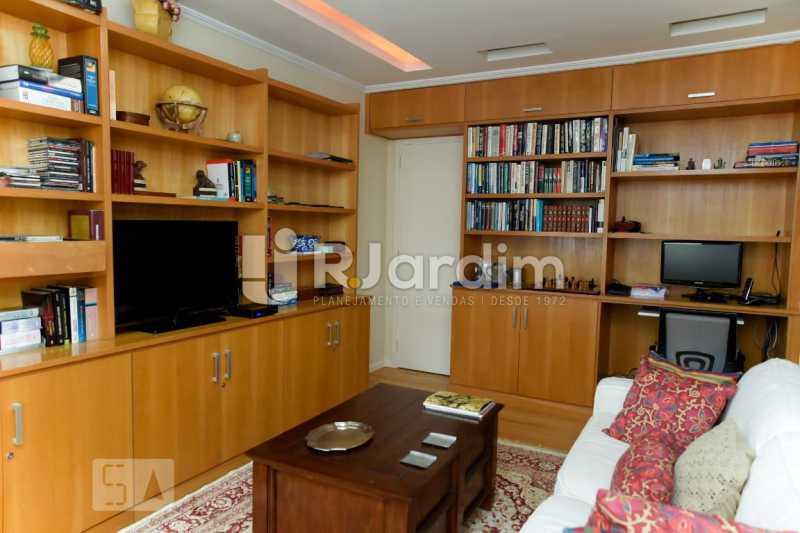 11escritório - Apartamento Leblon 3 Quartos Aluguel Administração Imóveis - LAAP40793 - 12
