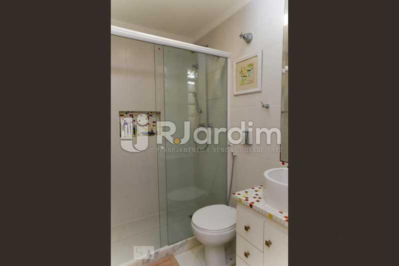 14banho suite 1 - Apartamento Leblon 3 Quartos Aluguel Administração Imóveis - LAAP40793 - 15