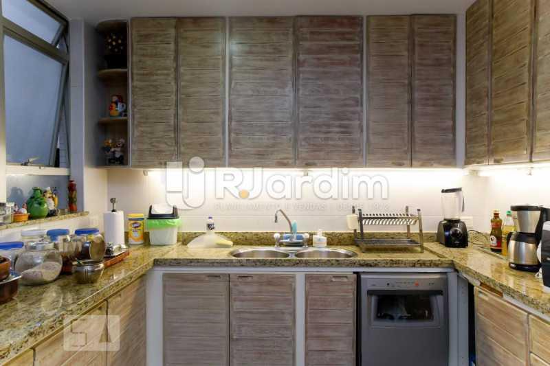 24armarios cozinha - Apartamento Leblon 3 Quartos Aluguel Administração Imóveis - LAAP40793 - 25