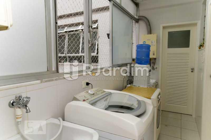 26área serviço - Apartamento Leblon 3 Quartos Aluguel Administração Imóveis - LAAP40793 - 27