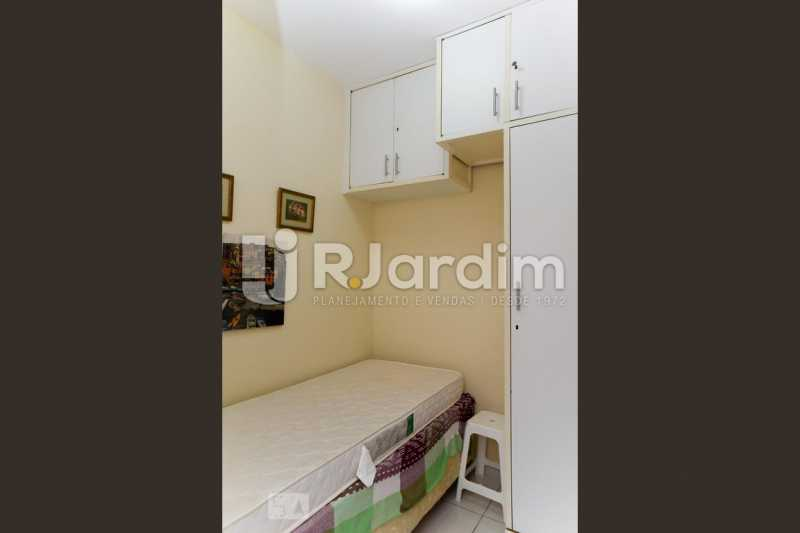 27qto serviço - Apartamento Leblon 3 Quartos Aluguel Administração Imóveis - LAAP40793 - 28