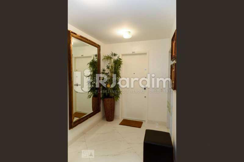 29hall entrada - Apartamento Leblon 3 Quartos Aluguel Administração Imóveis - LAAP40793 - 30