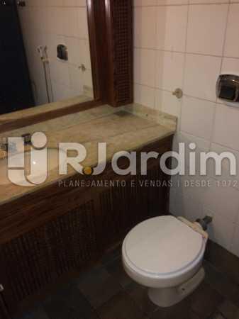 banheiro - Apartamento Para Alugar - Gávea - Rio de Janeiro - RJ - LAAP40797 - 16