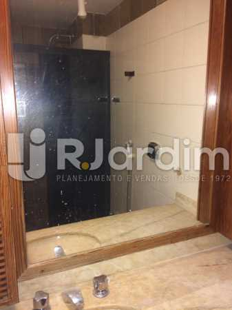 banheiro - Apartamento Para Alugar - Gávea - Rio de Janeiro - RJ - LAAP40797 - 17