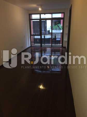 Sala - Apartamento Para Alugar - Gávea - Rio de Janeiro - RJ - LAAP40797 - 12