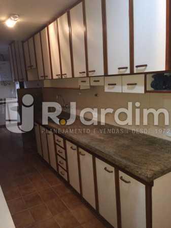 cozinha - Apartamento Para Alugar - Gávea - Rio de Janeiro - RJ - LAAP40797 - 18