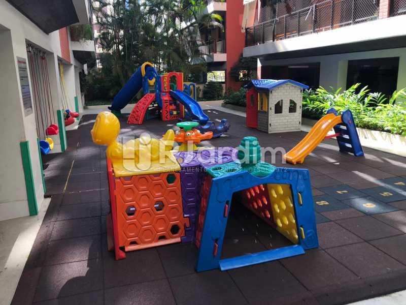 Playground - Apartamento Para Alugar - Gávea - Rio de Janeiro - RJ - LAAP40797 - 7