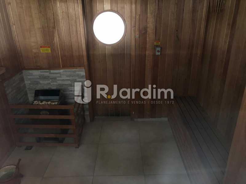 sauna - Apartamento Para Alugar - Gávea - Rio de Janeiro - RJ - LAAP40797 - 9