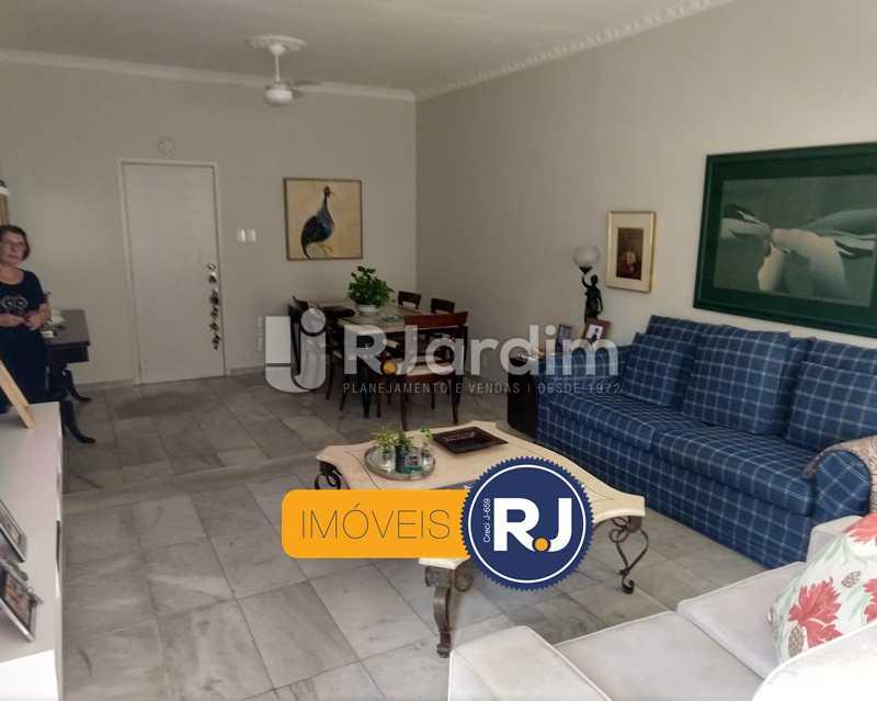 sala / entrada social - Apartamento Rua São Clemente,Botafogo, Zona Sul,Rio de Janeiro, RJ À Venda, 2 Quartos, 80m² - LAAP21534 - 1