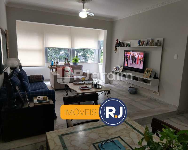 sala - Apartamento Rua São Clemente,Botafogo, Zona Sul,Rio de Janeiro, RJ À Venda, 2 Quartos, 80m² - LAAP21534 - 4