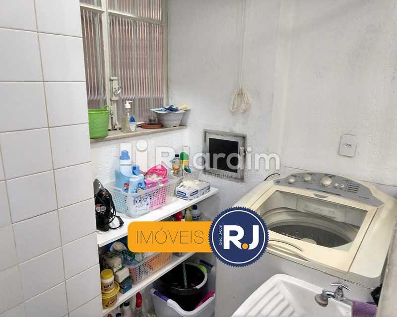 área de serviço - Apartamento Rua São Clemente,Botafogo, Zona Sul,Rio de Janeiro, RJ À Venda, 2 Quartos, 80m² - LAAP21534 - 14
