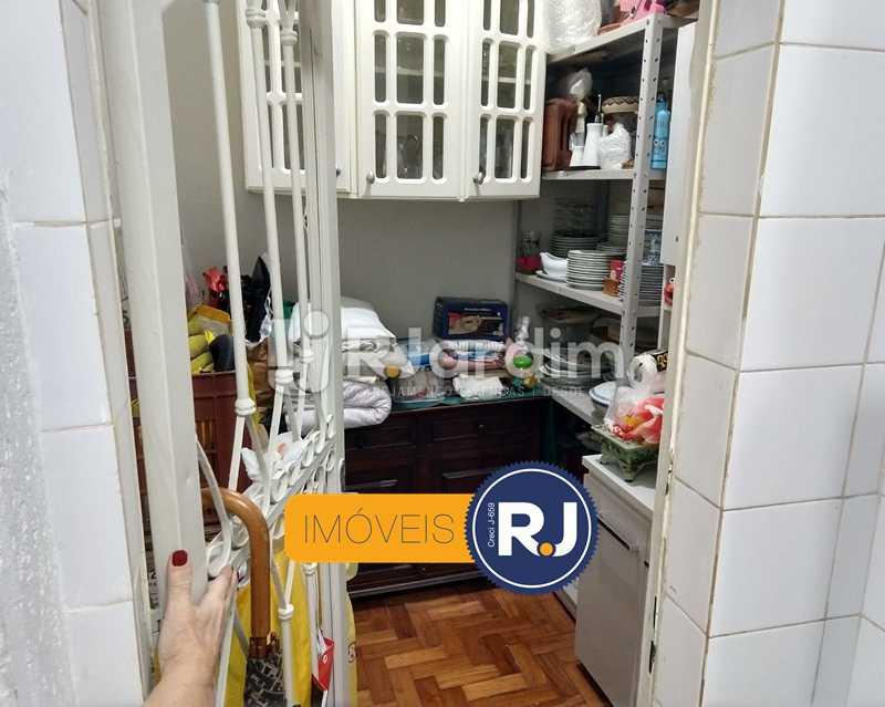 cozinha / despensa - Apartamento Rua São Clemente,Botafogo, Zona Sul,Rio de Janeiro, RJ À Venda, 2 Quartos, 80m² - LAAP21534 - 13