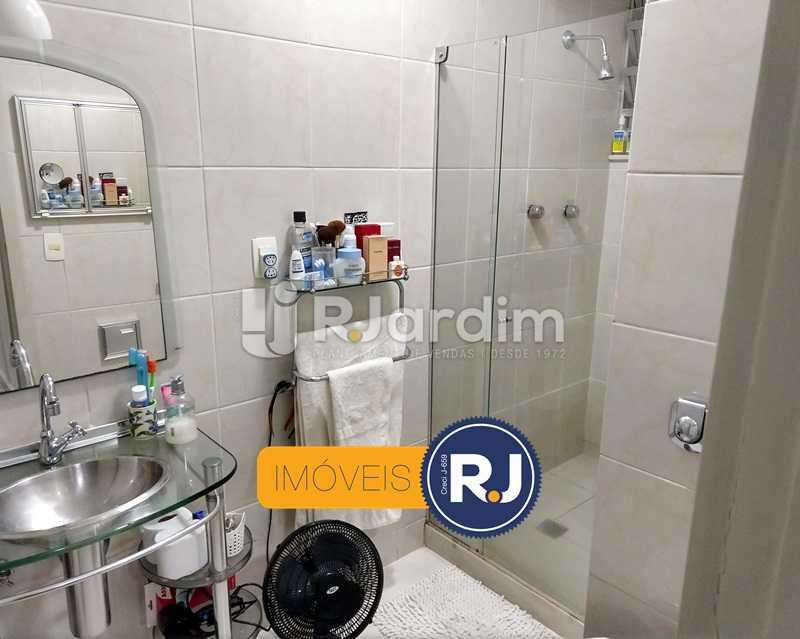 banheiro social - Apartamento Rua São Clemente,Botafogo, Zona Sul,Rio de Janeiro, RJ À Venda, 2 Quartos, 80m² - LAAP21534 - 9