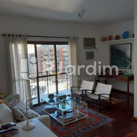 Sala - Apartamento Lagoa Quarto Garagem Compra Venda Avaliação Imóveis - LAAP10378 - 3