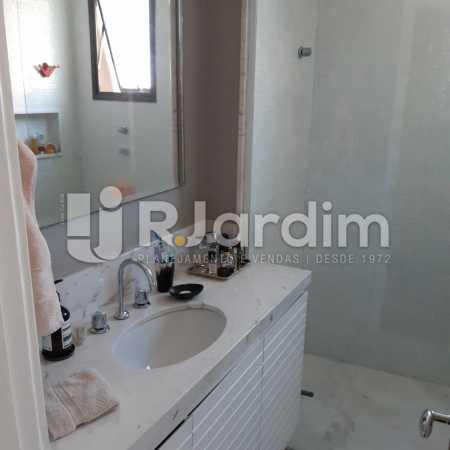 Banheiro Suíte - Apartamento Lagoa Quarto Garagem Compra Venda Avaliação Imóveis - LAAP10378 - 16