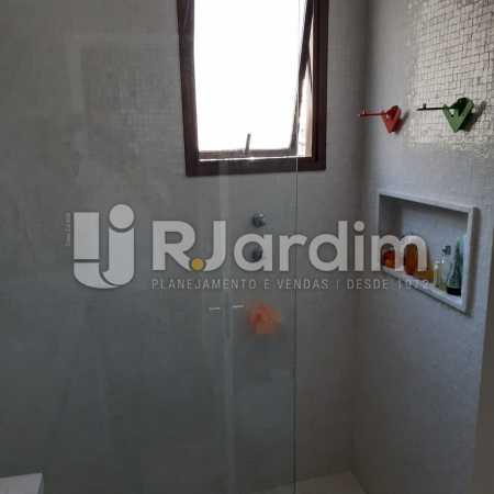 Banheiro Suíte - Apartamento Lagoa Quarto Garagem Compra Venda Avaliação Imóveis - LAAP10378 - 13