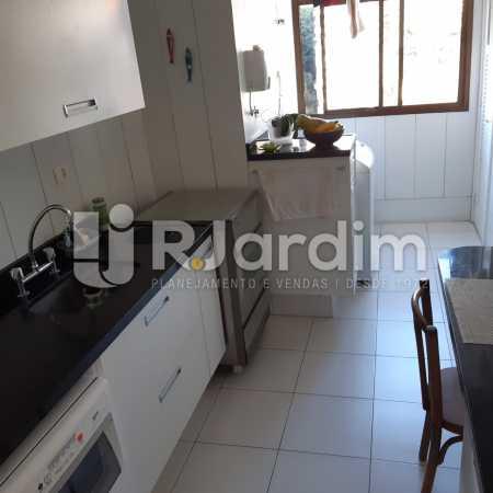 Cozinha - Apartamento Lagoa Quarto Garagem Compra Venda Avaliação Imóveis - LAAP10378 - 17
