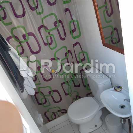 Banheiro de Serviço - Apartamento Lagoa Quarto Garagem Compra Venda Avaliação Imóveis - LAAP10378 - 20