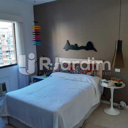 Suíte - Apartamento Lagoa Quarto Garagem Compra Venda Avaliação Imóveis - LAAP10378 - 12