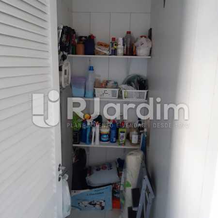 Dependência - Apartamento Lagoa Quarto Garagem Compra Venda Avaliação Imóveis - LAAP10378 - 21