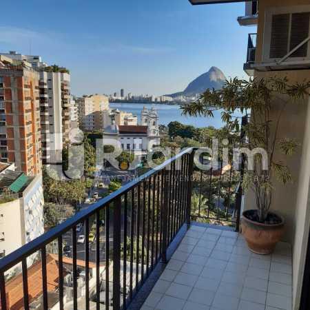 Vista - Apartamento Lagoa Quarto Garagem Compra Venda Avaliação Imóveis - LAAP10378 - 6