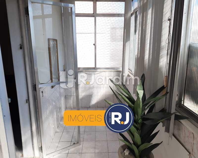 Varanda Fechada - Apartamento Copacabana 2 Quartos Compra Venda Avaliação Imóveis - LAAP21533 - 7